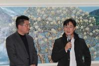 百雅轩入驻798一周年 IDG资本正式进场,许江,罗中立,李大钧