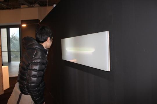 蔡磊的一件空间装置作品《浴之二》