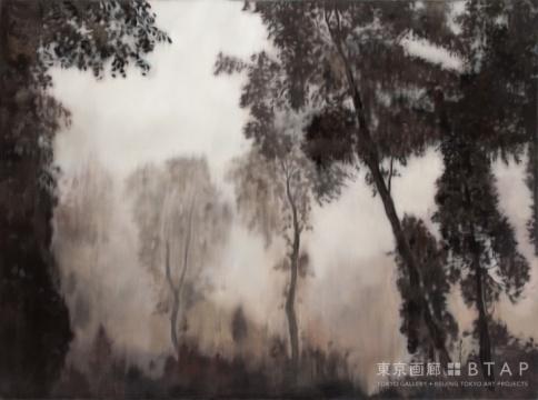 《观气7》,150X200cm,油彩,2008