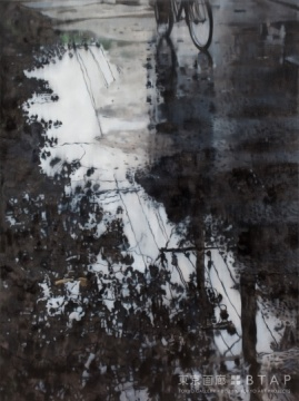 《观影21》, 200X150cm, 2009