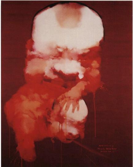杨少斌 230× 180 cm《作品三号》布面油画 2000
