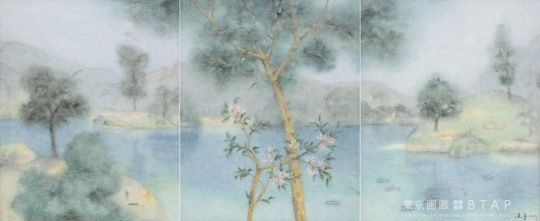 把风景独立出                    水画与西方风景画的理解和尝试