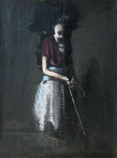 《无题》 54x73cm 布面油画 2008-2013