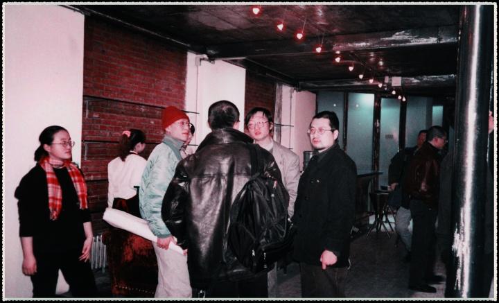 当年的刘韡、顾振清、石青(从左至右)