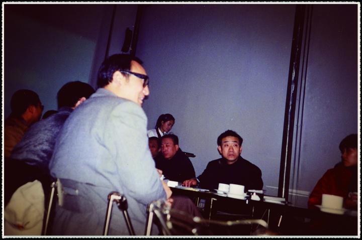 朱青生在研讨会上