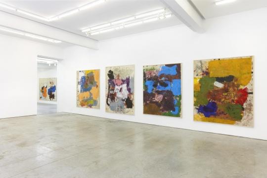 布雷德里的个展在Gavin Brown, New York.