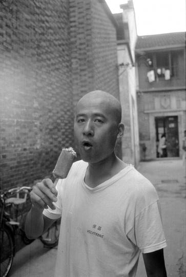 张培力,1991年8月,杭州