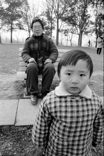 艺术史家范景中,1993年2月,杭州