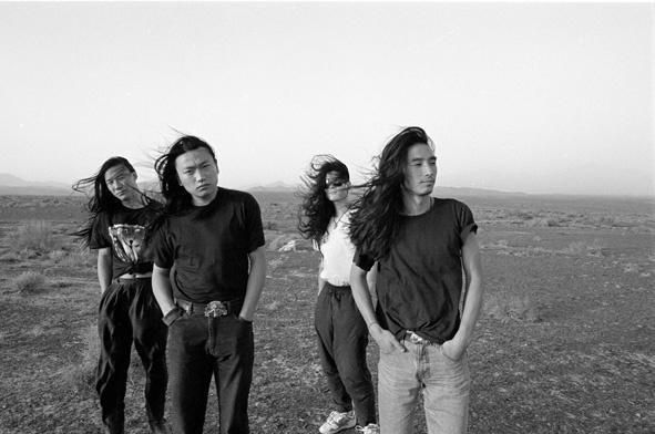 1993年9月,唐朝乐队在新疆