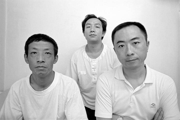 陈少平(左)、顾德新(中)、王鲁炎,1993年9月,北京