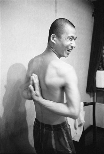 方力钧,1993年9月,北京