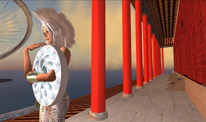 《The Fashions of China Tracy 04》 36 x 65 cmC-print 2009©曹斐