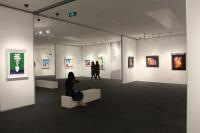 华谊总裁爱绘画 保利艺术博物馆开幕王中军个展,王中军