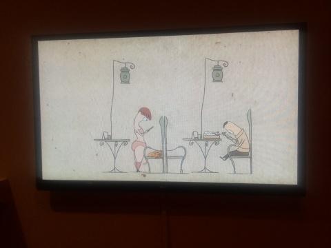 谢承霖《低头族》单频动画 2'47'' 2015