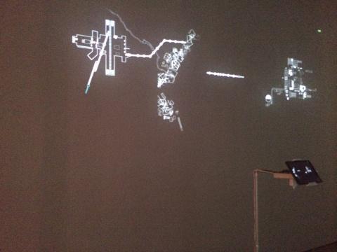 张文超《快捷风景计划》交互程序与动画 尺寸可变 2014
