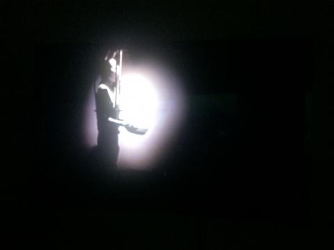 盛洁《沙男》单频影像 12'55'' 2014