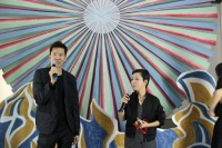 """新加坡艺术家黄汉明北京首展 借古喻今演""""明年"""",黄汉明,何翔宇"""