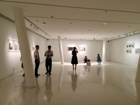 筑中美术馆曹吉冈作品展现场