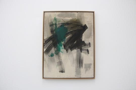 冯国东 《绿色》 100×75cm 布面油画 1985