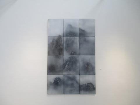 《听山》60×50cm×122015