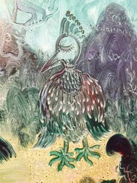苗族动物壁画贴图