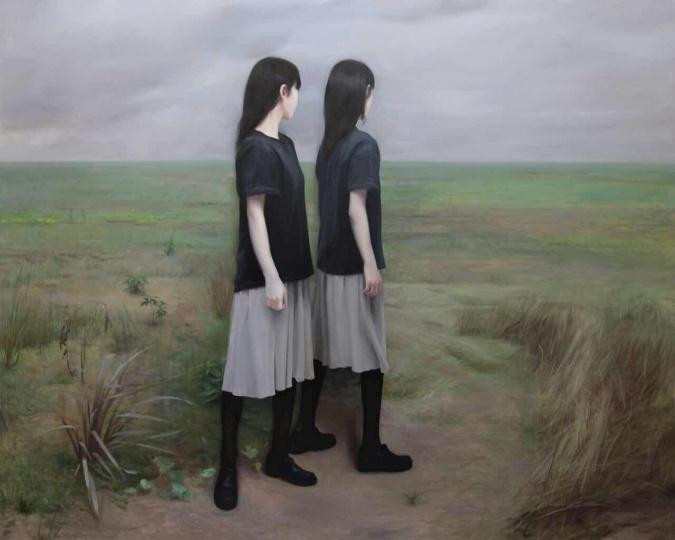 薛若哲《被取消的风景》200×250cm 布面油画 2015