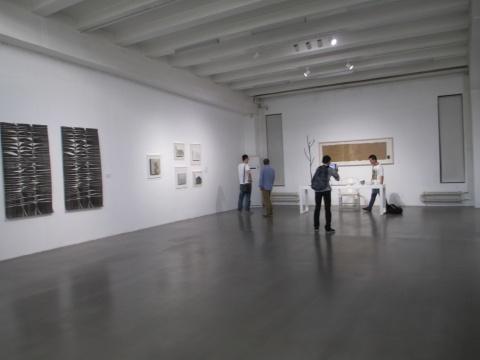 """""""中国色""""北京798亚洲艺术中心展览现场"""