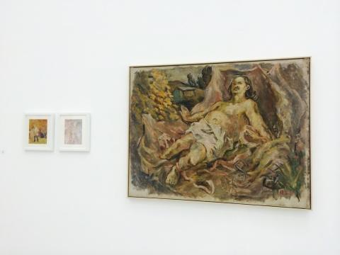 王音《爸爸》140×180cm 布面油画 1993
