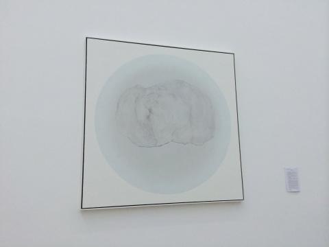 朱昱《茶渍 No.31》180×180cm 布面油画 2015