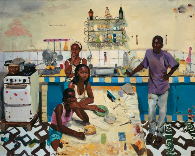 《阿曼多的家人》200x250cm 布面油画 2009