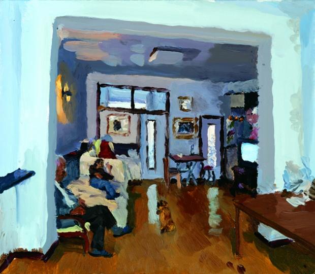 《家》33x38cm 布面油画 2010