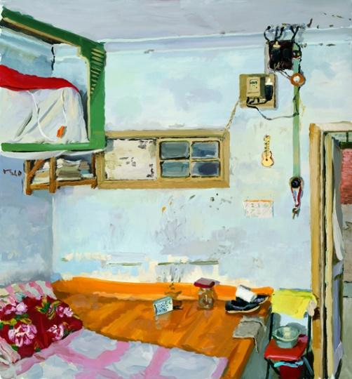 《我的老家》 150x140cm 布面油画 2010