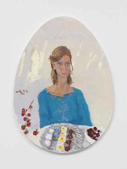 《小火苗》110.5x80cm 布面油画 2012