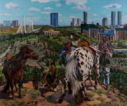 《空城记02》250x300cm 布面油画 2015