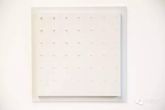 洪绍裴 《Painting15》80×80×3.5cm 2014