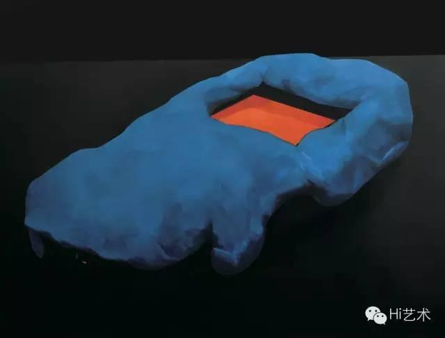 詹翀 《火山》 112×150cm 木板丙烯 2015