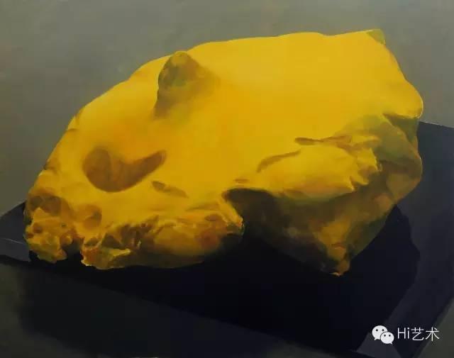 詹翀 《肚脐和舌头》100×80cm 木板丙烯 2015