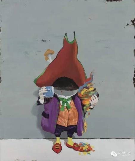 GAMA 《藏家#1》 60×50cm 布面油画 2015