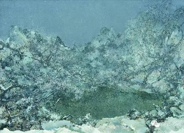 洪凌 《素处》 220×160cm 布面油画 2013