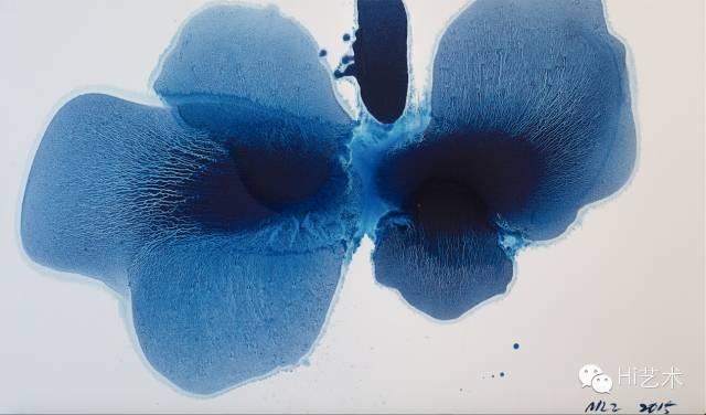 毛栗子 《花非花.1》 195×114cm 布面油画 2015
