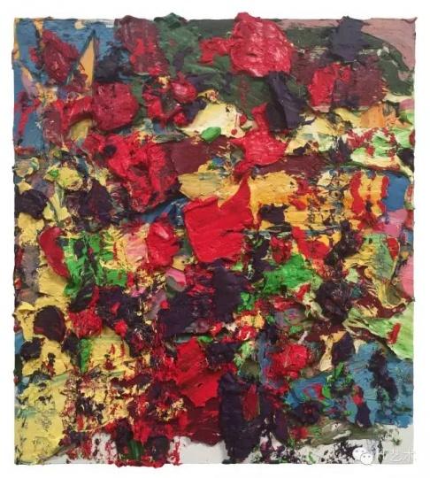 朱金石 《红色探戈》 180×160cm 布面油画 2015
