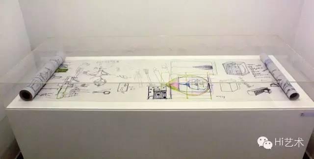 隋建国 《素描草稿手卷》 62×700cm 硫酸纸、水墨 2005-2007