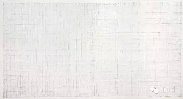 李华生 《1011》 97×180cm 水墨纸本 2010