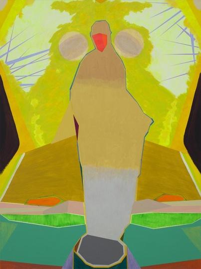 《风光-女人》 200×150cm 布面丙烯 2014