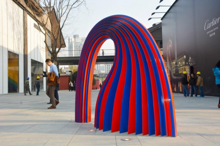 成都太古里公共雕塑随处可见的空间日式小景观设计图片