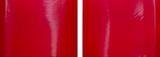 谢墨凛 《赫》(双联作)165×221.5cm/联 布面丙烯  2011 流拍