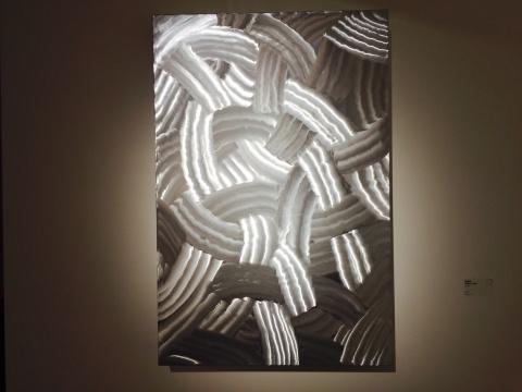 2015年作品《201501》 材质为铝