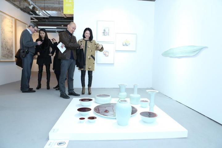 第一届ART021展览现场