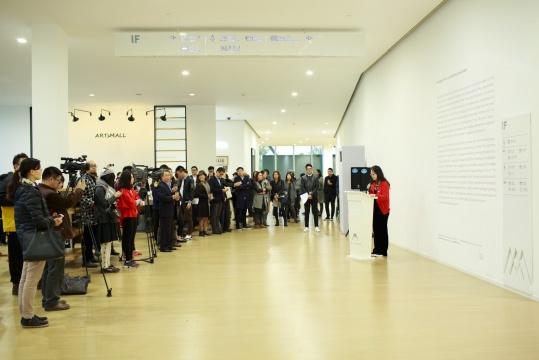 上海二十一世纪民生美术馆馆长甘智漪致开幕辞