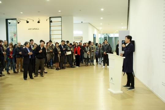 上海二十一世纪民生美术馆副馆长李峰致辞